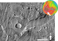 Martian impact crater Nhill based on day THEMIS.png