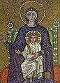 Mary, mother of Jesus on the throne.jpg