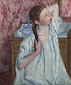 Mary Cassatt - Girl Arranging Her Hair - Google Art Project.jpg