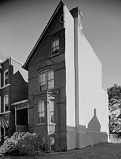 Mary Church Terrell House, 326 T Street Northwest (Washington, District of Columbia).jpg