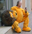 Mascot with mobile.jpg