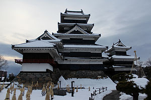 Matsumoto Castle - Matsumoto Castle in winter