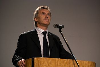 Mauricio Macri - the politician