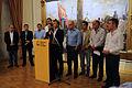 Mauricio Macri anunció la ampliación de los subsidios para los damnificados por el temporal (8622267344).jpg