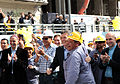 Mauricio Macri inauguró paso bajo nivel en Federico Lacroze y vías del Ferrocarril Mitre (10190478505).jpg