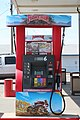Maverik branded gas pump in Gillette, Wyoming.jpg
