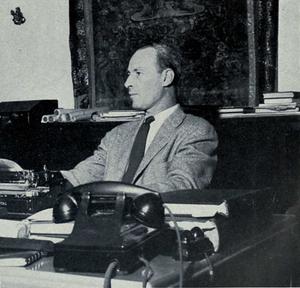 Max Loehr - Max Loehr at Michigan, 1955