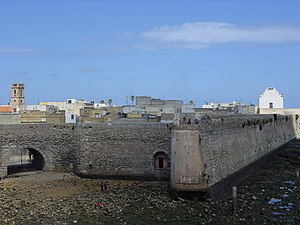 Morocco–Portugal relations - The Portuguese ramparts of Mazagan (modern El Jadida).