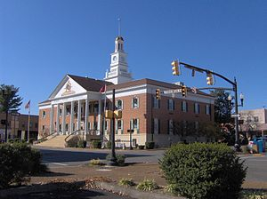 Athens, Tennessee - McMinn County Courthouse in Athens