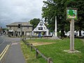 Melbourn, Village sign and War Memorial - geograph.org.uk - 876471.jpg