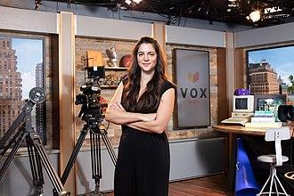 Melissa Bell (journalist) - Image: Melissa Bell, Vox Media, September 2018