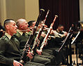 "Members of the U.S. Marine Band, ""The President's Own,"" rehearse at John Philip Sousa Band Hall in Washington, D.C 130117-M-TF630-034.jpg"