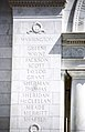 Memorial Amphitheater - north apse column - Arlington National Cemetery - 2012.JPG