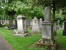 Memorials, London Road Cemetery, Coventry - geograph.org.uk - 1295673.jpg