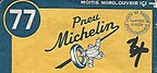 Couverture de carte Michelin de 1950.