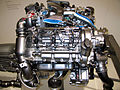 Mercedes-Benz E300 (W211) Bluetech engine 2.jpg