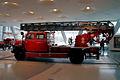 Mercedes-Benz LF 3500 1952 Feuerwehrfahrzeu mit MetzDrehleiter DL22 LSide MBMuse 9June2013 (14796921670).jpg