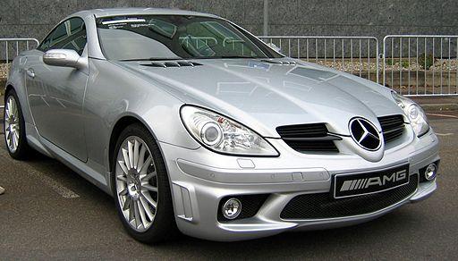 Mercedes SLK55 R171