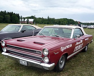 1966 Indianapolis 500 - Image: Mercury Comet 1966 Indy 500 pace car