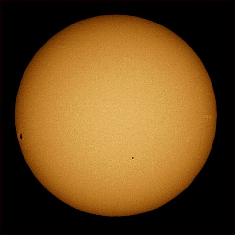 [Mercury Transit 2006, photo by Brocken Inaglory]