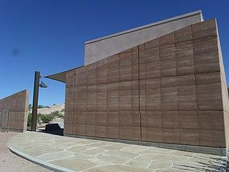 Mesa Grande - Entrance of the Mesa Grande Cultural Park