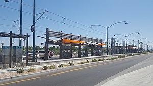 Mesa Drive/Main Street station - Image: Mesa Dr Station VMR