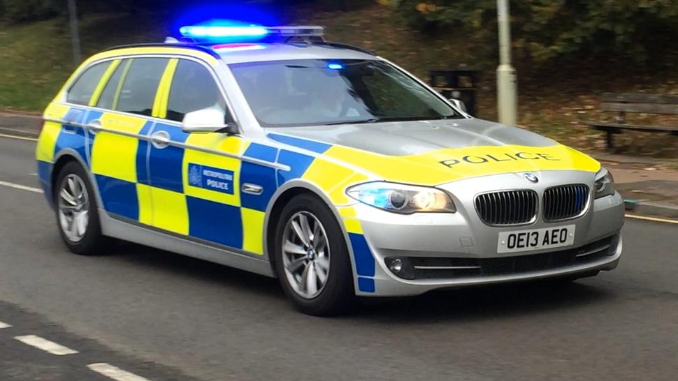 Met Police Area Car