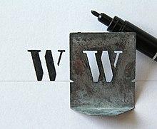 schablone wikipedia. Black Bedroom Furniture Sets. Home Design Ideas