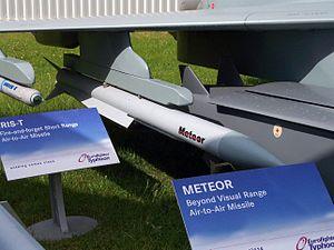 Beyond-visual-range missile - Image: Meteor (Luft Luft Rakete)