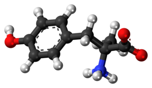 Metirosine - Image: Metirosine zwitterion ball