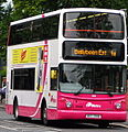 Metro (Belfast) bus 2908 (EEZ 2908) 2005 Volvo B7TL Alexander Dennis ALX400, 10 July 2008.jpg