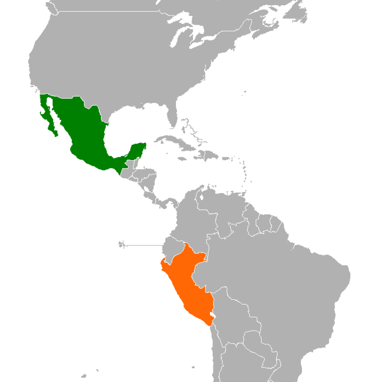 peru and united states relationship with spain