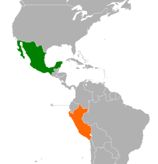 Mexico–Peru relations Diplomatic relations between the United Mexican States and the Republic of Peru