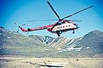 Mi-8 RA-24502, landing at Chukotka, Russia.jpg