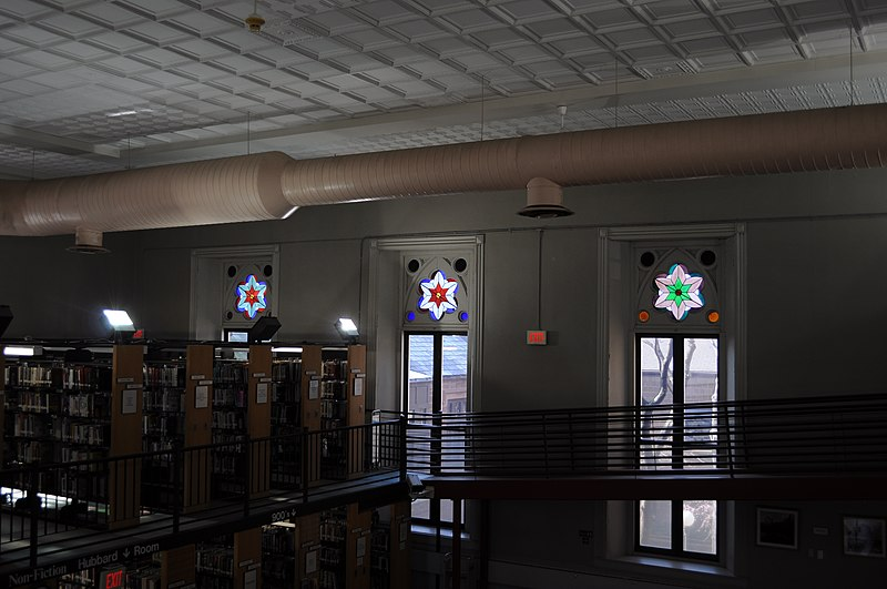 Middletown (CT) United States  City new picture : Middletown, CT Russell Library interior 02 Wikimedia ...