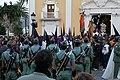 Miembros del Tercio Duque de Alba II de la Legión ante la iglesia de Nuestra Señora de África (Semana Santa en Ceuta, 2012).jpg