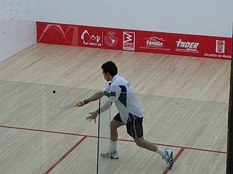 Miguel Ángel Rodríguez (squash player) - Image: Miguel Ángel Rodríguez (squash player)