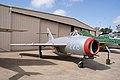 Mikoyan-Gurevich MiG-17F Fresco-C RSideFront CFM 7Oct2011 (15324838562).jpg