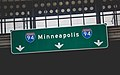 Minneapolis I-94 Highway Sign (30750234150).jpg