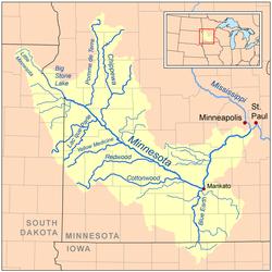 Minnesota řeka