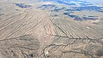 Minor drainage divide south of Buckeye Arizona aerial.jpg