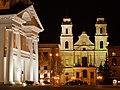 Minsk - Rathaus und Kirche (Верхний город) - panoramio.jpg