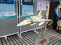 Mirage 2000-5EI Model Display at ROCAF Recurit Booth 20140607.jpg