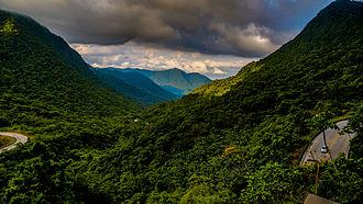 Serra do Itajaí National Park - Image: Mirante da Serra Dona Francisca