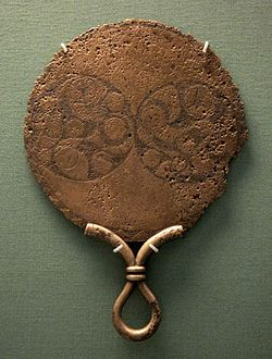 An Iron Age Bronze Mirror From 120 80 BCE Found In St Keverne England