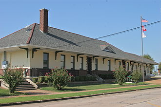 Newport, Arkansas - Newport's Missouri Pacific Depot is listed on the National Register of Historic Places