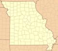 Missouri Locator Map UTM.png