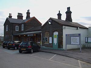 Mitcham Junction station - Image: Mitcham Junction stn building