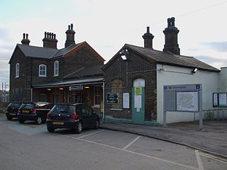 Mitcham Junction station Railway station and tram stop in Merton, London