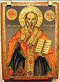 Mlado Nagorichane St George Church Veno Kostov St Nicholas Icon 1860-s.jpg